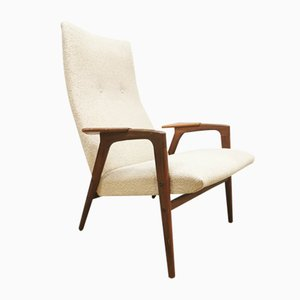 Vintage Modell Ruster Armlehnstuhl von Yngve Ekstrom für Pastoe, 1960er
