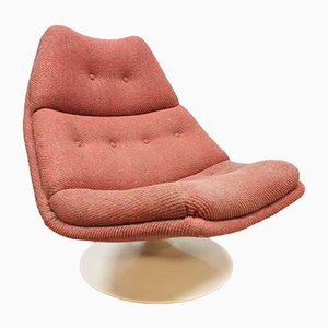 Vintage Model F511 Swivel Chair by Geoffrey Harcourt for Artifort, 1960s