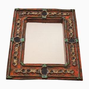 Miroir en Céramique, années 50