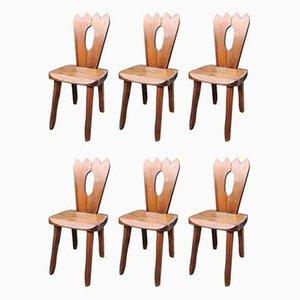 Esszimmerstühle von Olavi Hänninen, 1950er, 6er Set