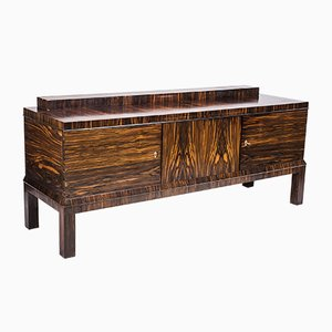 Art Deco Ebony Sideboard, 1930s