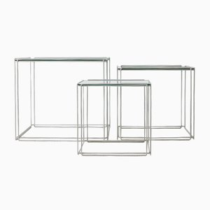 Nesting Tables by Max Sauze, 1980s