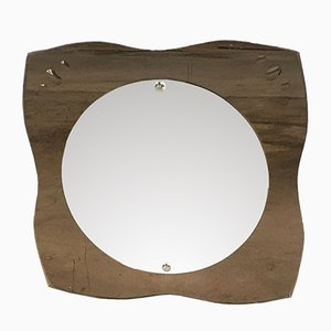 Mid-Century Italian Wall Mirror, 1970s