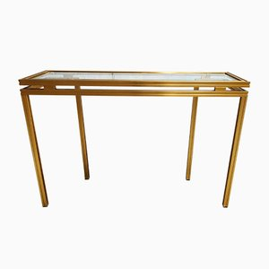 Console Table by Guy Lefevre, 1980s