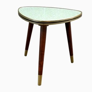 Small Mid-Century Tripod Side Table, 1950s