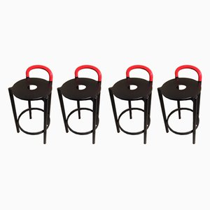 Vintage Italian Stools by Anna Castelli Ferrieri for Kartell, Set of 4