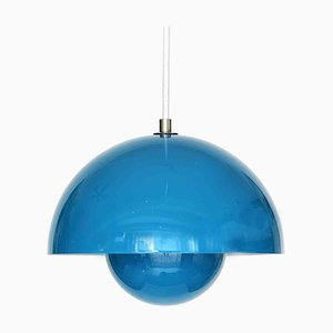 Danish Pendant Lamp by Verner Panton for & Tradition, 1980s
