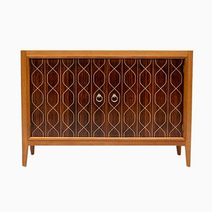 Rosewood and Mahogany Double Helix Sideboard by David Booth & Judith Ledeboer for Gordon Russell, 1950s