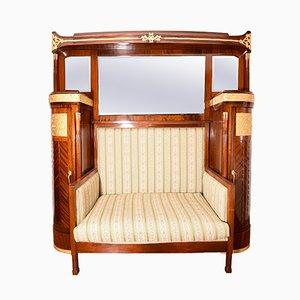 Antikes Sofa aus Mahagoni von Giambattista Gianotti