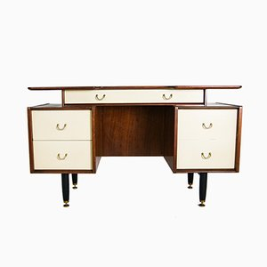 Teak Wood Desk by E Gomme for G Plan, 1950s