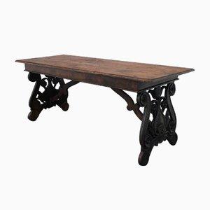 Table de Salle à Manger Ancienne en Noyer
