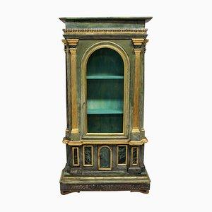 Mueble italiano antiguo de madera