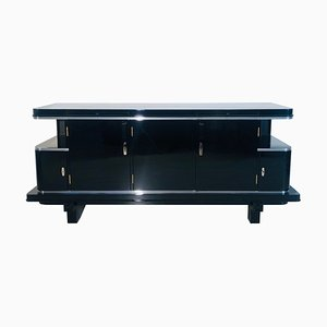 Large Black Sideboard, 1920s