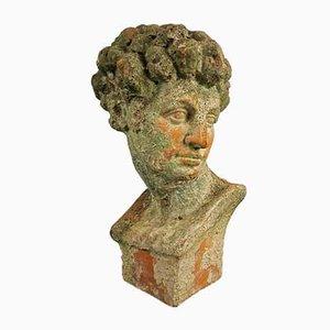 Antique Terracotta David Bust