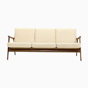 Danish Teak 3-Seater Sofa, 1960s