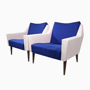Cubist Lounge Chairs, 1962, Set of 2