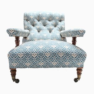 Antique Armchair by Howard and Sons