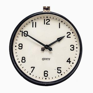 Factory Wall Clock from Gents of Leicester, 1930s