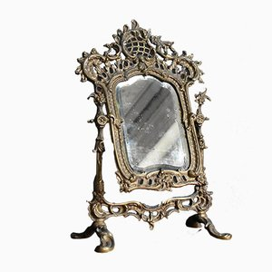 Antique French Ormolu Mirror from C.D.