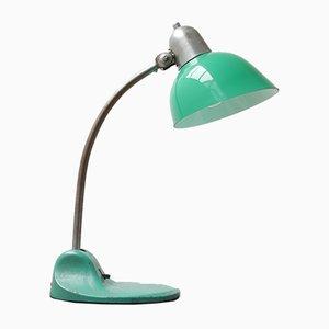 Grüne Tischlampe von Siemens & Schuckert, 1920er