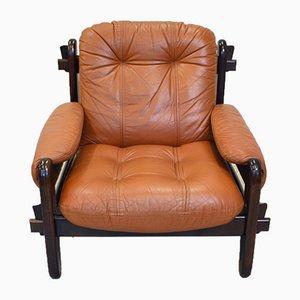 Sessel mit Gestell aus Palisander von Jean Gillon, 1960er