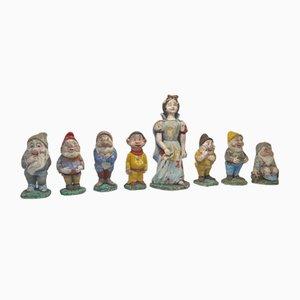Figurines de Conte de Fées en Ciment, 1960s, Set de 8