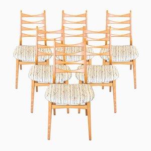 Vintage Esszimmerstühle, 6er Set