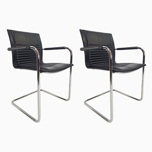 Dining Chairs by Walter Knoll for Walter Knoll / Wilhelm Knoll, 1980s, Set of 2