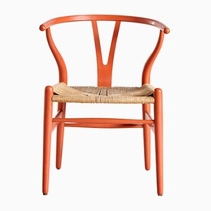 Sedia CH24 di Hans J. Wegner per Carl Hansen & Søn, anni '60