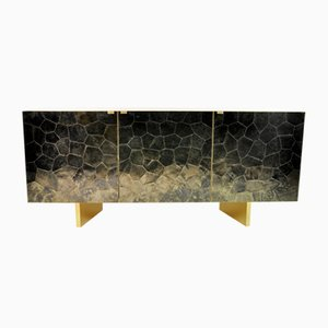 Sideboard in Brass and Mica Marquetry from Ginger Brown
