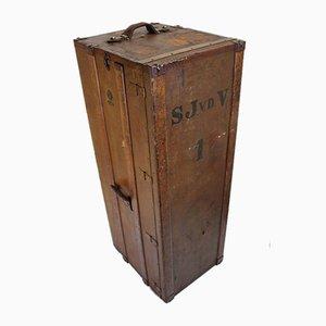 Vintage Wardrobe Steamer Trunk from Moritz Madler