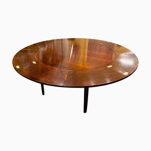 Danish Rosewood Extendable Dining Table from Dyrlund, 1960s