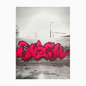 Serigrafía Street Art de Smash 137