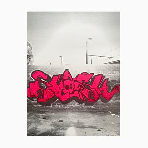 Street Art Silkscreen Print by Smash 137