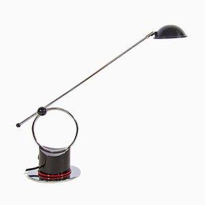Lampe de Bureau Chromée par Tom Ahlstrom et Hans Ehrich pour Fagerhult, Suède, années 80