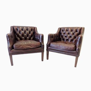 Chesterfield Clubsessel von Millbrook, 1960er, 2er Set