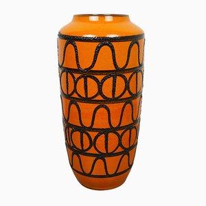 Vase Fat Lava en Céramique de Scheurich, Allemagne, 1960s