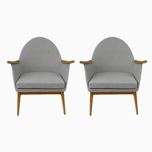 Hungarian Armchairs, 1960s, Set of 2