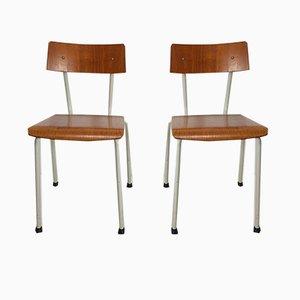 Niederländische Esszimmerstühle von Ahrend De Cirkel, 1960er, 2er Set