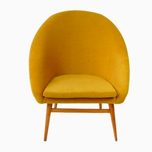 Yellow Shell Chair, 1960s