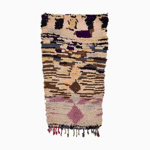 Vintage Moroccan Berber Carpet from Boucherouite