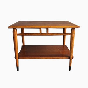 Walnut and Fruitwood Coffee Table by Lane Altavista for Lane Furniture, 1960s