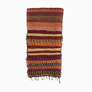 Vintage Moroccan Berber Carpet from Boucherouite
