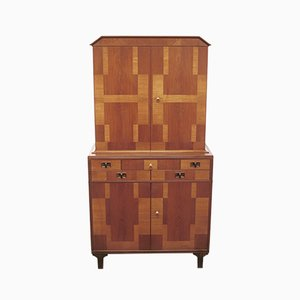 Middle Kingdom Rosewood, Teak, and Mahogany Cabinet by Carl Malmsten, 1958