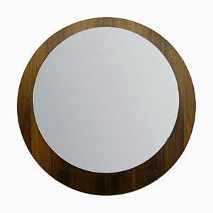 Espejo con marco de madera, años 70