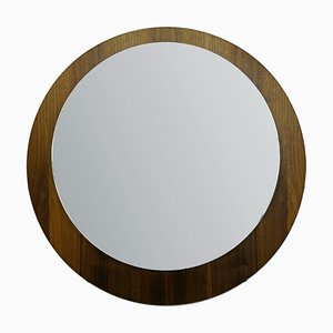 Spiegel mit Holzrahmen, 1970er
