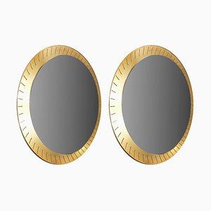 Specchio con luce di Stilnovo, anni '50