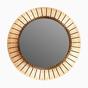 Round Illuminated Mirror, 1970s