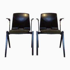 Modell S22 Esszimmerstühle von Galvanitas, 1960er, 2er Set
