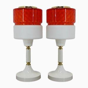 Große Tischlampen, 1960er, 2er Set